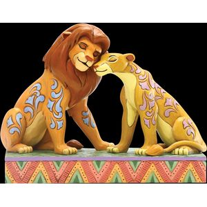 Disney Traditions Savannah Sweethearts (Simba & Nala) Figurine