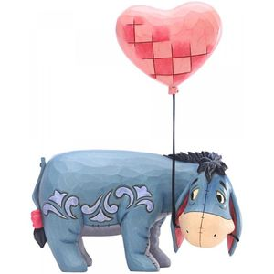 Disney Traditions Eeyore with Heart Balloon Figurine