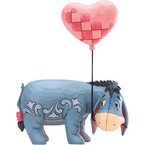 Disney Traditions Heartstrings Eeyore with a Heart Balloon Figurine