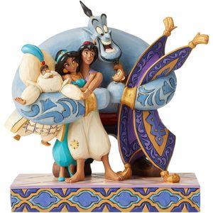 Disney Traditions Group Hug (Aladdin) Figurine