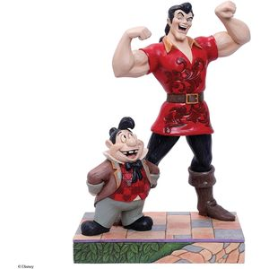 Disney Traditions Muscle-Bound Menace (Gaston & Lefou) Figurine