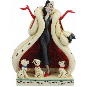 Disney Traditions The Cute & The Cruel (Cruella & Puppies) Figurine