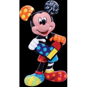 Disney Britto Mickey Mouse with Heart Mini Figurine
