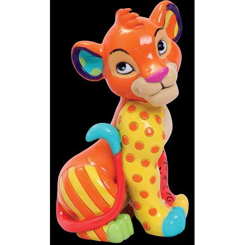 Disney Britto Simba Sitting Mini Figurine 6006089