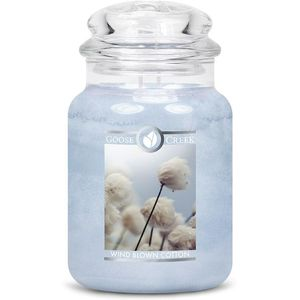 Goose Creek Large Jar Candle - Wind Blown Cotton