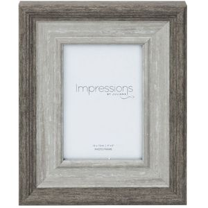 Grey Wash Wood Effect Photo Frame 4x6""