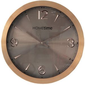 Hometime Wall Clock Copper Aluminium 30cm