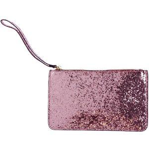 Rose Gold Glitter Bag Phone 2000mAh Powerbank