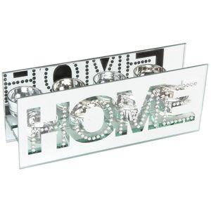 Hestia Mirror Glass Tea Lights Holder - Home