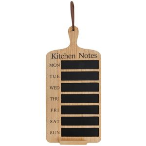 Kitchen Notes Weekly Blackboard