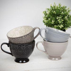 Home Living Set Of 4 Tea Cups