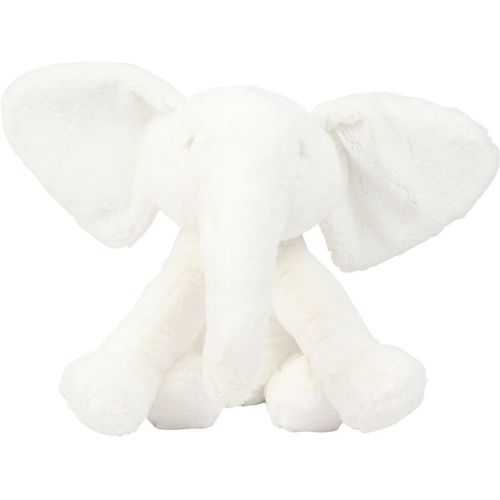 Bambino Collection by Juliana White Plush Elephant Large 31cm
