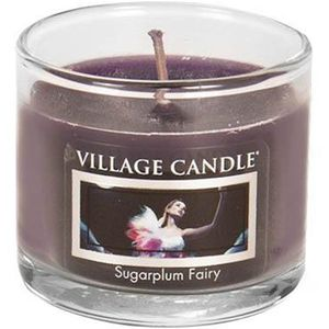 Village Candle Mini Glass Votive - Sugarplum Fairy