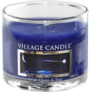 Village Candle Mini Glass Votive - Wish Upon a Star