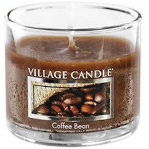 Village Candle Mini Glass Votive - Coffee Bean