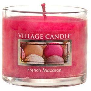 Village Candle Mini Glass Votive - French Macaron