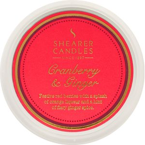 Shearer Candles Wax Melt Pot - Cranberry & Ginger
