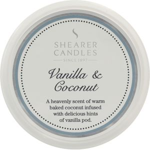 Shearer Candles Wax Melt Pot - Vanilla & Coconut