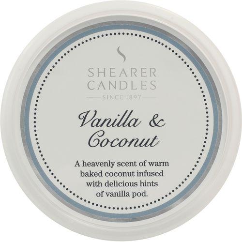 Shearer Candles Wax Melt Pot - Vanilla & Coconut