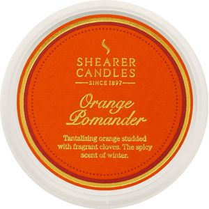 Shearer Candles Wax Melt Pot - Orange Pomander