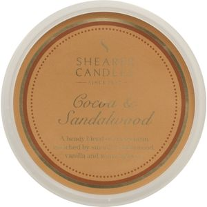 Shearer Candles Wax Melt Pot - Cocoa & Sandalwood