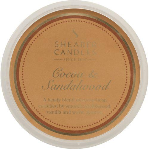 Shearer Candles Wax Melt Pot - Cocoa & Sandalwood