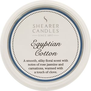 Shearer Candles Wax Melt Pot - Egyptian Cotton
