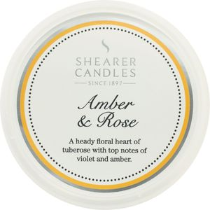 Shearer Candles Wax Melt Pot - Amber & Rose
