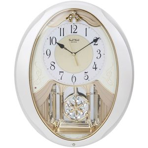 Rhythm Magic Motion Clock Pendulum Hourly Melody Auto