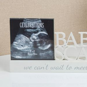 "Celebrations Photo Frame 4"" x 4"" (Baby Scan)"