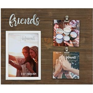 Moments Multi Aperture Clip Frame - Friends