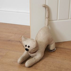 Juliana Home Living Door Stop (Beige Cat)