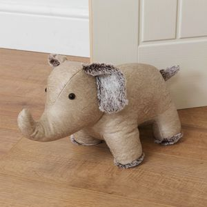 Juliana Home Living Door Stop - Beige Elephant