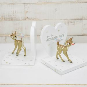 Disney Magical Beginnings 3D Moulded Bookends - Bambi