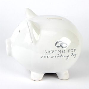 Amore Wedding Fund Pig Money Bank - Saving for Our Wedding Day