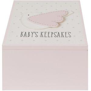 Petit Cheri Pink Bird Keepsake Box