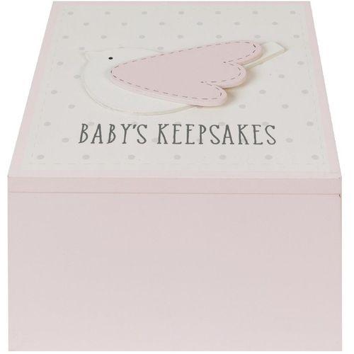 Petit Cheri Bay Girl Keepsake Box - Baby`s Keepsakes