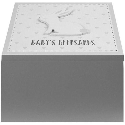 Petit Cheri Baby Keepsake Box - Baby`s Keepsakes (Grey)
