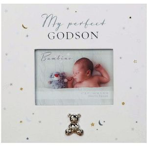 "Juliana Bambino Paperwrap Photo Frame 4"" x 3"" - My Perfect Godson"