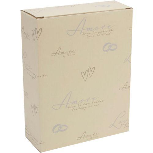 "Amore Suede Wedding Album Holds 100 7x5"" Photos"