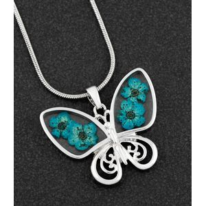 Equilibrium Eternal Flowers Necklace - Butterfly