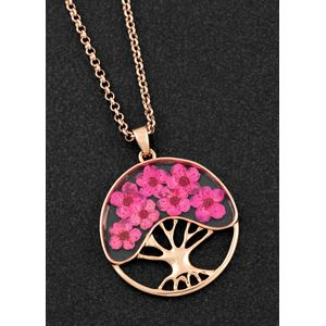 Equilibrium Eternal Flowers Tree of Flowers Necklace