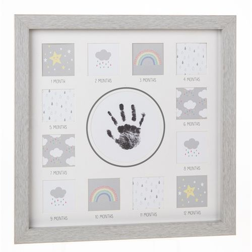 Baby First Year Handprint Photo Frame