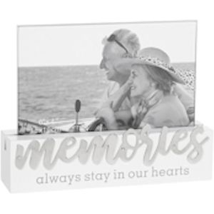 "Loving Script Photo Frame 6x4"" - Memories"