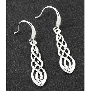 Equilibrium Celtic Collection - Silver Plated Earrings