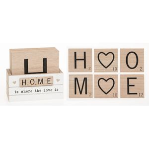Scrabble Sentiments Coasters Set of 6 - Home