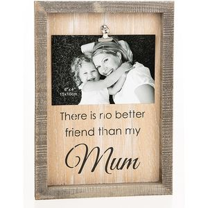 "Sentiment Clip Photo Frame 6x4"" - Mum"