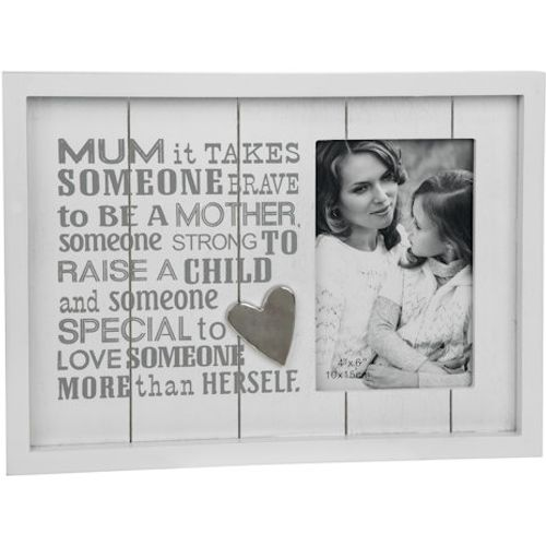 "Photo Phrases Collection Photo Frame 4"" x 6"" - Mum"
