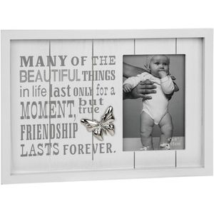 "Photo Phrases Photo Frame 4"" x 6"" - Friendship Moments"
