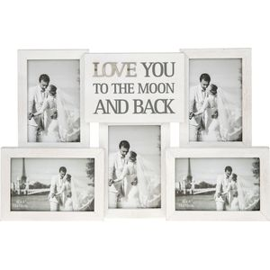 Love Letters Collage Frame Moon & Back